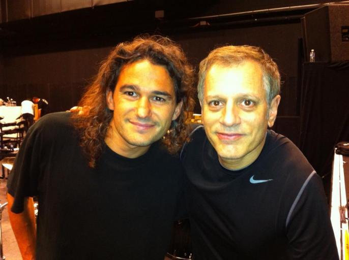 Avec Dave Weckl