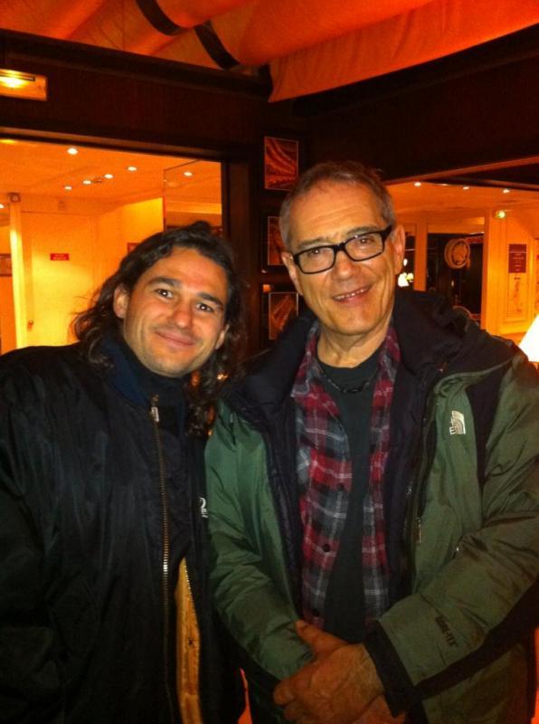 Avec Vinnie Colaiuta