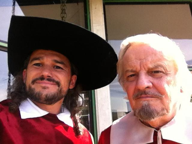 Avec Jacques Perrin